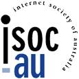 Internet Society of Austrailia logo