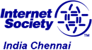 Internet Society: India Chennai logo