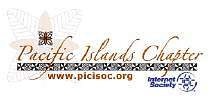 Pacific Islands Chapter: Internet Society logo